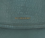 Givenchy Blue Leather Shoulder Bag Handbag 10