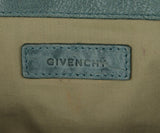 Givenchy Blue Leather Shoulder Bag Handbag 9
