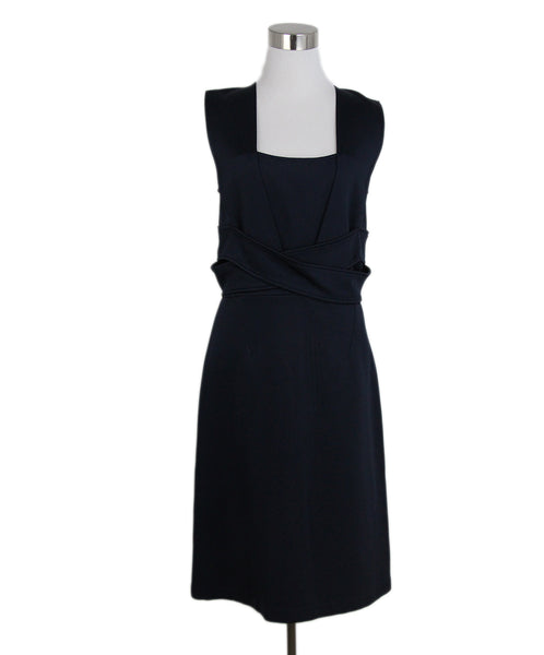 Givenchy blue navy dress 1