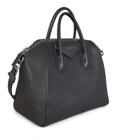 Givenchy grey leather Antigona medium bag 1