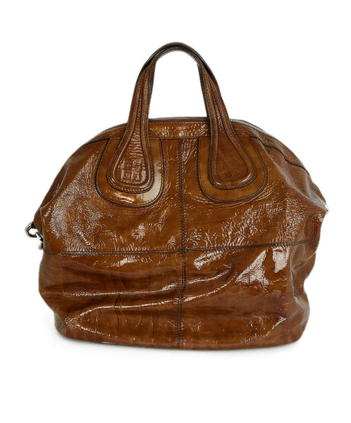 Givenchy Patent Leather Satchel Handbag 1