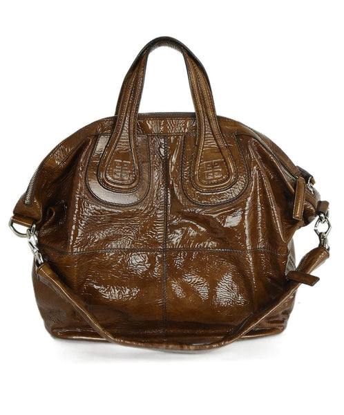 Givenchy Patent Leather Satchel Handbag 3