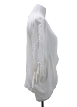 Givenchy Ivory Silk Lace Top 1