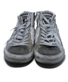 Golden Goose White Silver Leather High Tops Sneakers 4