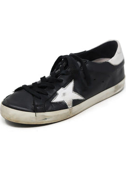 Sneakers Golden Goose Shoe Black White Leather Shoes