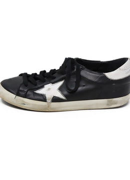 Sneakers Golden Goose Shoe Black White Leather Shoes 1
