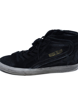 Golden Goose Black Leather Sneakers 2