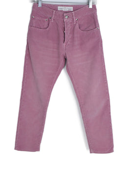Golden Goose Pink Corduroy Pants 1