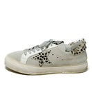 Golden Goose Sneakers Shoe Size US 7 White Grey Pony Suede Leather Shoes 2