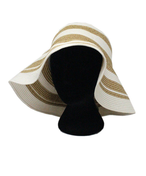 Gottex White Gold Straw Hat