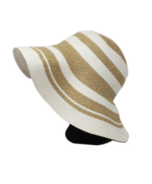 Gottex White Gold Straw Hat 1