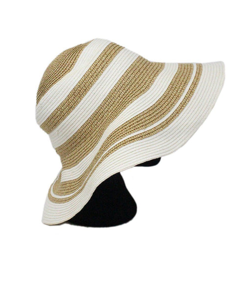 Gottex White Gold Straw Hat 2