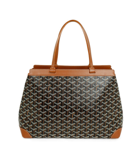 Alaia Brown Beige Snake Skin Bucket Handbag