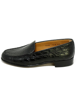 Gravati Black Crocodile Shoes 2
