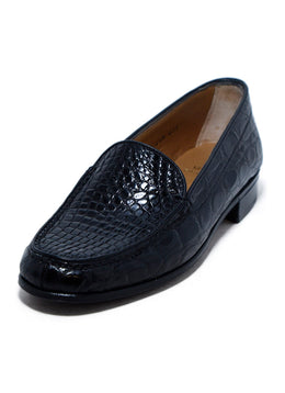 Loafers Gravati Black Leather Loafers 1