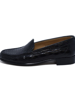 Loafers Gravati Black Leather Loafers sz. 6.5 | Gravati
