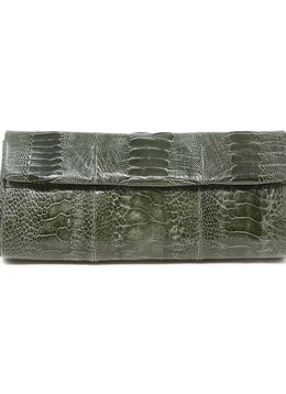 Anthem Olive Green Clutch 1