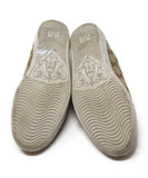 Gucci Beige Canvas Lilac Leather Monogram Sneakers 5