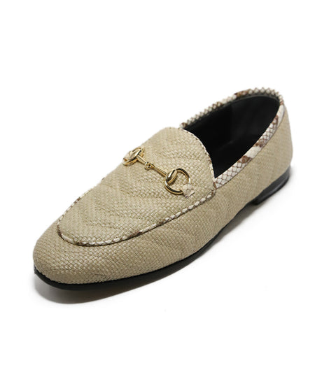 Lanvin White Leather Loafers sz. 38