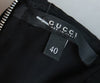 Gucci Black Silk Purple White Sequins Dress 4