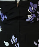 Gucci Black Silk Purple White Sequins Dress 5