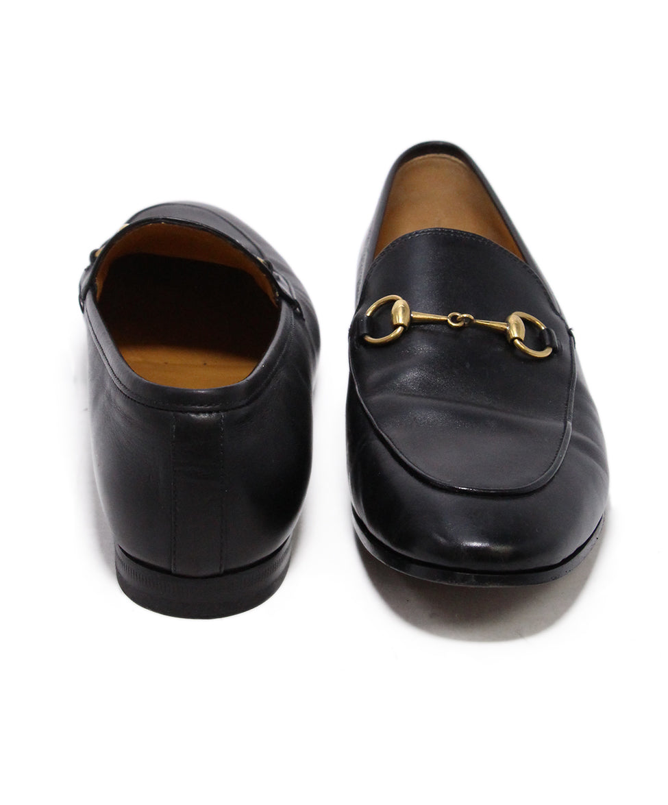 Gucci Black Leather Loafers 3