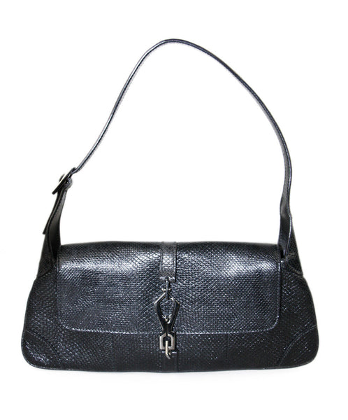 Gucci Black Skin Handbag