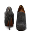 Gucci Brown Taupe Suede Tassel Detail Booties 3