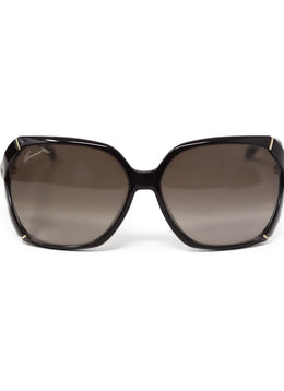Gucci Brown Bamboo Sunglasses