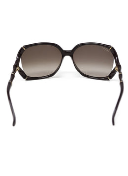 Gucci Brown Bamboo Sunglasses 1