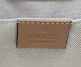 Gucci Neutral Leather Crossbody Handbag 8