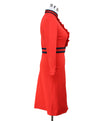 Gucci Red Spandex Black Dress 1