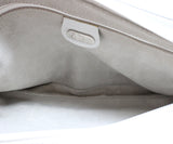 Gucci Vintage White Leather Shoulder Bag 1