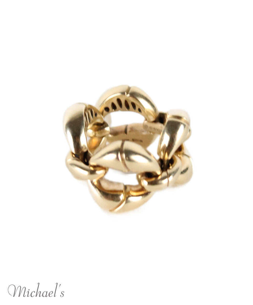 Gucci Yellow 18K Gold Ring - Michael's Consignment NYC  - 3