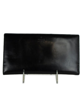 Gucci Black Leather Wallet 1