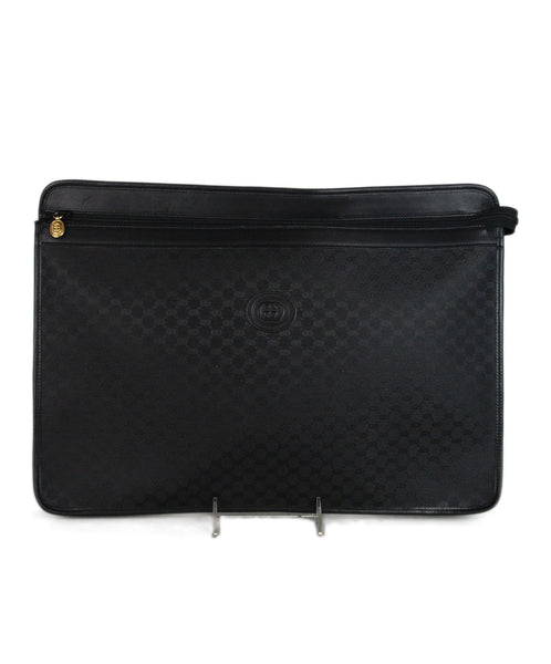 Gucci black monogram canvas portfolio 1