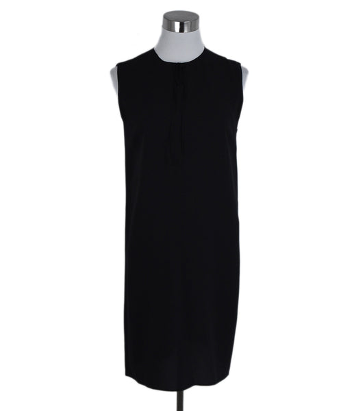 Gucci Black Silk Dress 1