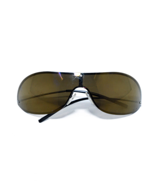 Gucci Brown Lens Mask Sunglasses 1
