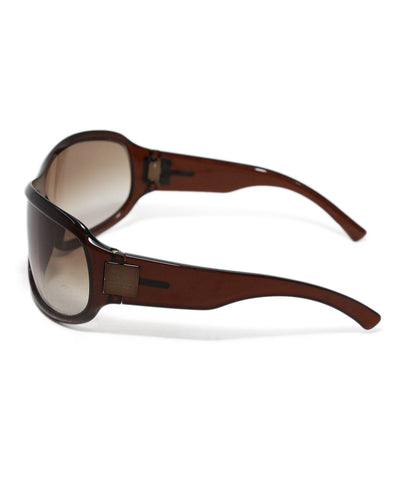 Gucci Brown Plastic Sunglasses 1