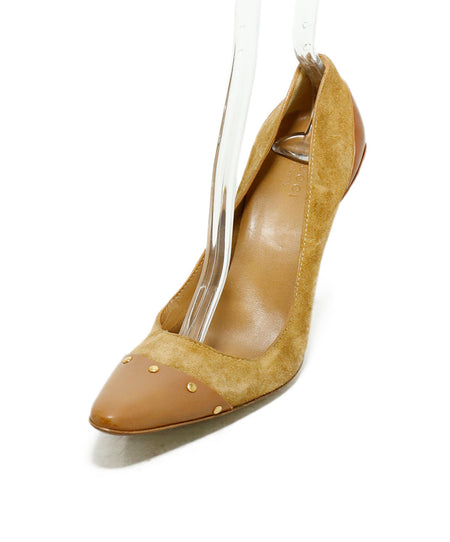 Christian Louboutin Brown Tobacco Leather Heels Sz. 36