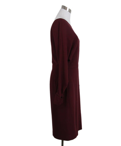 Gucci burgundy dress 1