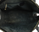Gucci Grey Charcoal Brown Python Satchel Handbag 6