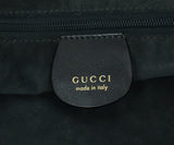 Gucci Grey Charcoal Brown Python Satchel Handbag 7