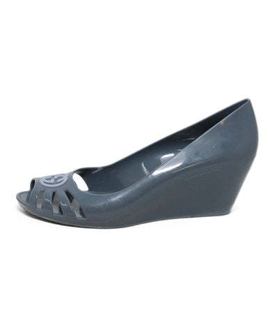 Gucci grey rubber wedges 1