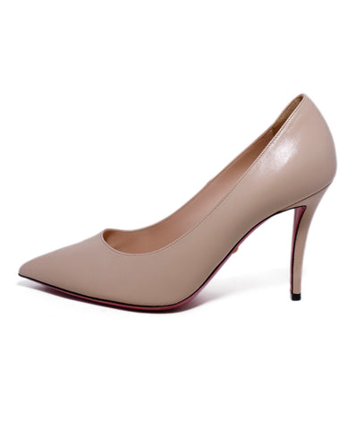 Gucci Neutral Nude Leather Heels 1