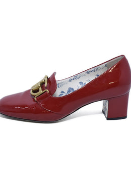 Gucci Red Patent Leather Heels Sz. 38 | Gucci