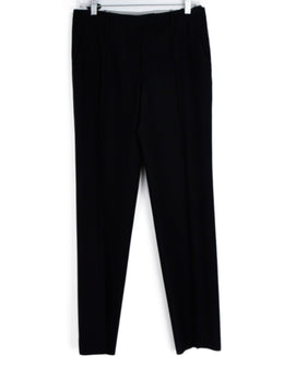 Helmut Lang Black Wool Side Stripe Pants 1