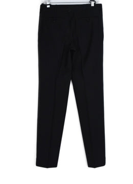 Helmut Lang Black Wool Side Stripe Pants 2