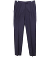 Helmut Lang Navy Silk Pants