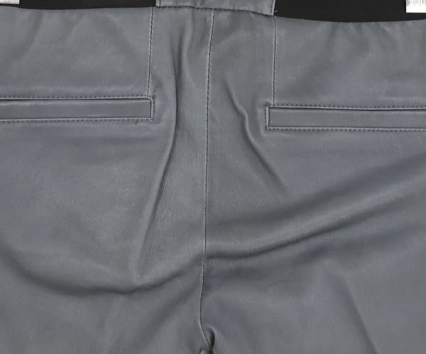 Helmut Lang Grey Leather Pants 5